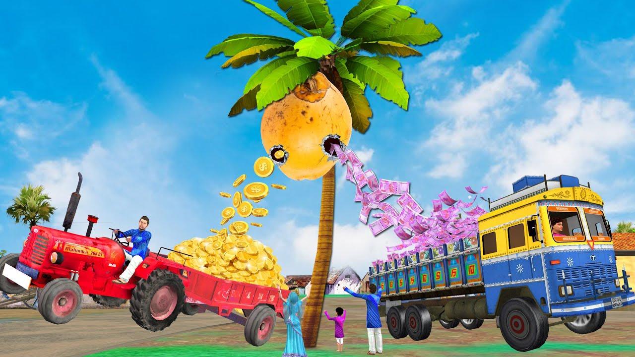 जादुई गोल्डन नारियल Magical Golden Coconut Funny Comedy Hindi Kahaniya हिंदी कहानिया Comedy Video
