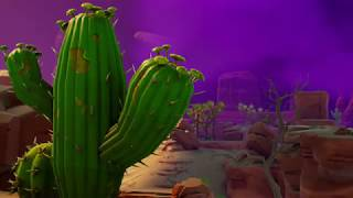 Fortnite Saison 6 LEAKED TRAILER - scène de cactus (NEW MAP?)