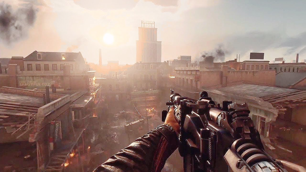 Play Wolfenstein II The New Colossus