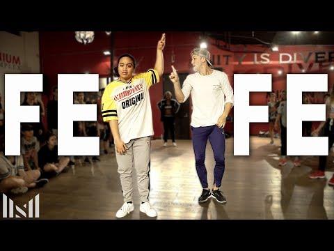 "6ix9ine - ""FEFE"" Ft Nicki Minaj Dance | Matt Steffanina & Sienna Lalau Choreography"