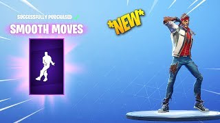 *NEW* FORTNITE SMOOTH MOVES DANCE/EMOTE!