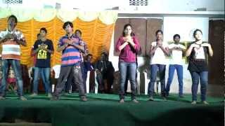 Agape Gospel Ministries India Youth Presents - Ye Badha Ledhu - Telugu Christian Song Choreography