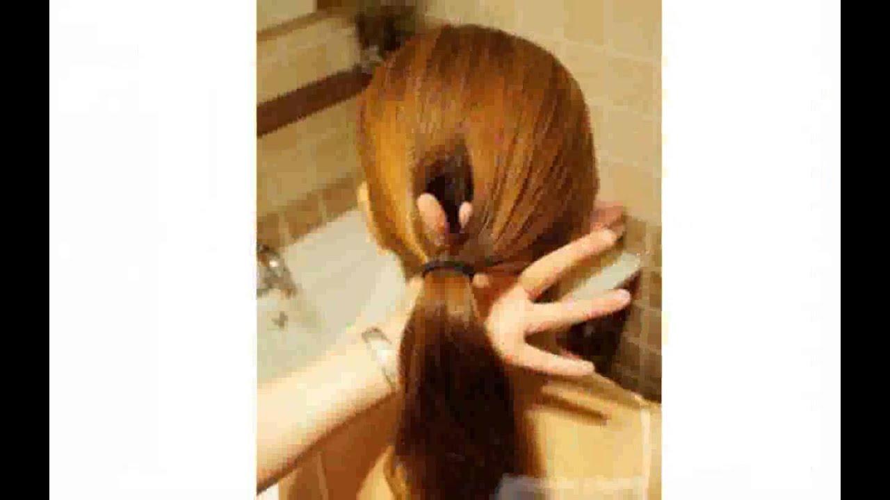 Como hacer peinados recogidos en casa