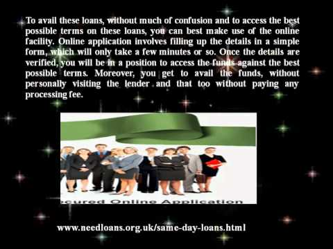Same Day Loans Unsecured Loans