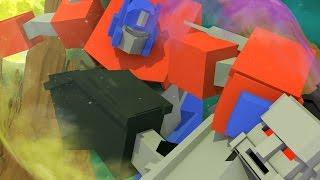 Minecraft Good vs Evil Challenge - TRANSFORMER DESTRUCTION! (Minecraft Challenge)