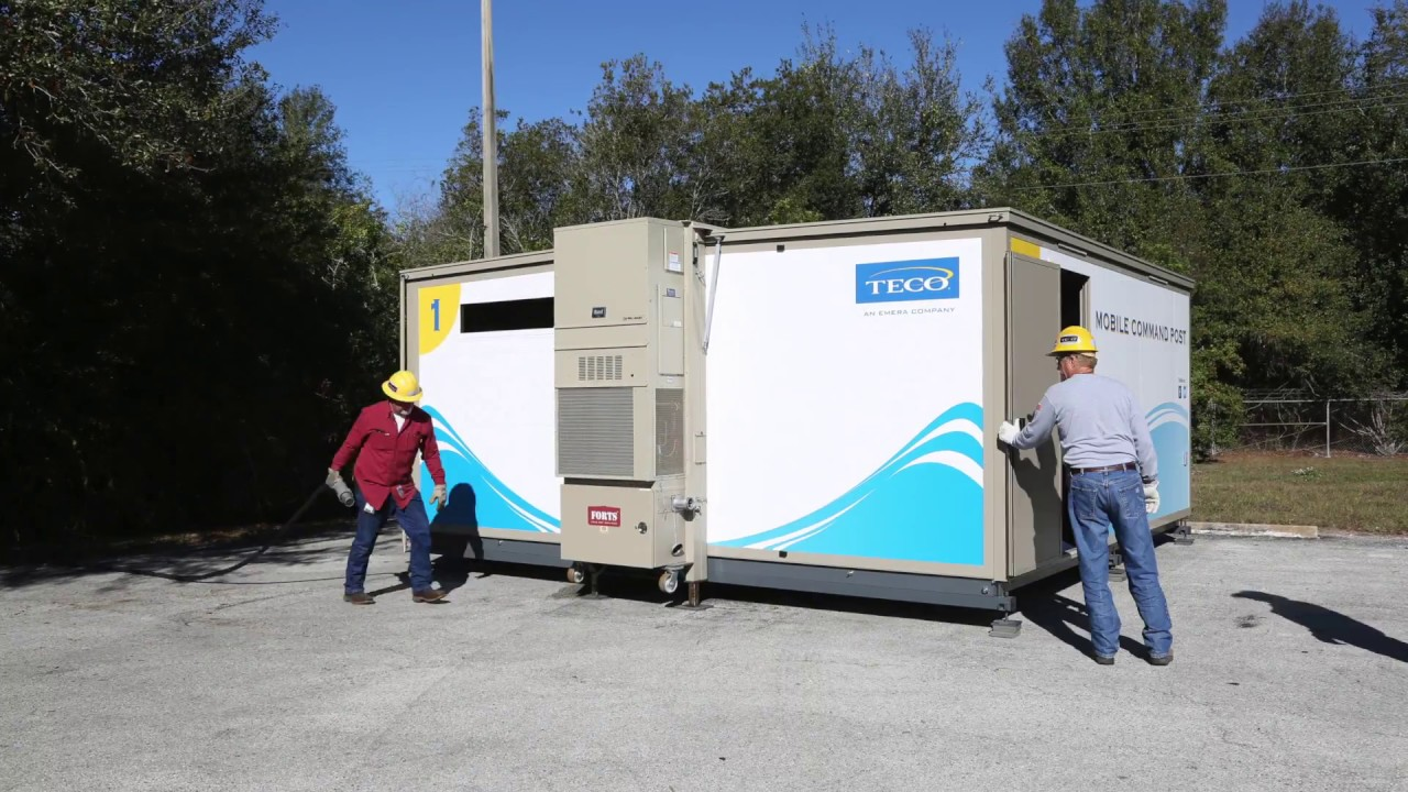 How to build teco s mobile command post in 40 seconds