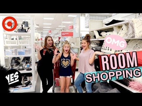 SHOPPING for New Room Makeover! Bedroom and Studio Decorating and Decorations Shopping at Target