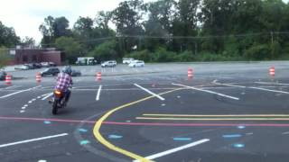 Safety Zones Motorcycle Riding
