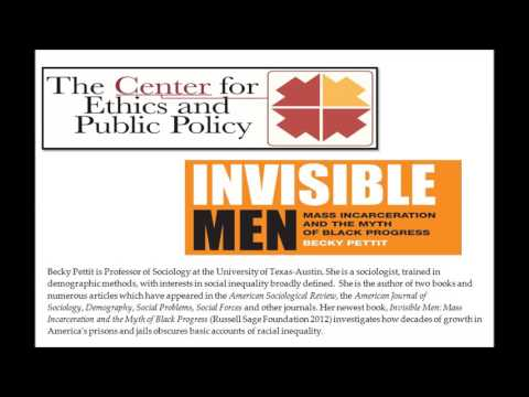 "Public Lecture--  ""Invisible Men -- Mass Incarceration and the Myth of Black Progress"""