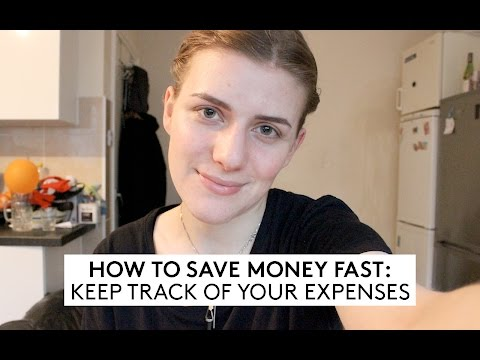 How To Save Money Fast: Track Your Expenses // Minimalism & Money