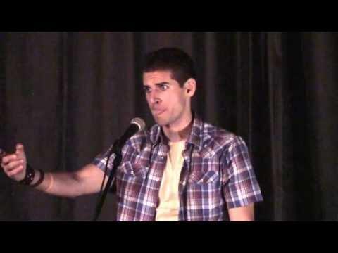 """Carlos Andrés Gómez performs """"Columbian-Amerikan"""" (Nuyorican Poets Cafe)"""