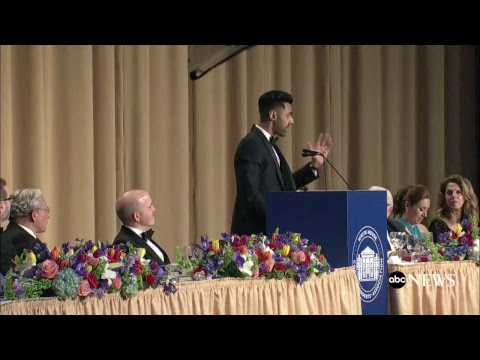 White House Correspondents Dinner 2017 hosted by Hasan Minhaj