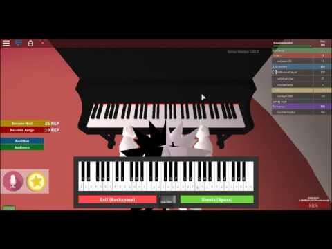 piano music for roblox got talent