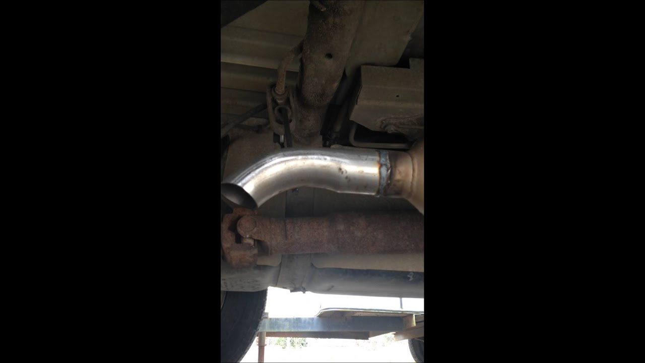Flowmaster Cat Back Exhaust Silverado