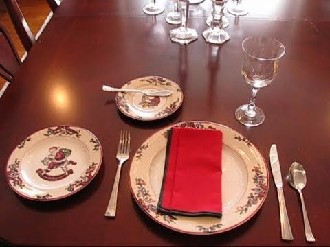 Bettys Quick Tip 85An Example of a Casual Place Setting