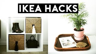 DIY IKEA HACKS! TRENDY + MINIMAL //DIY ROOM DECOR 2017