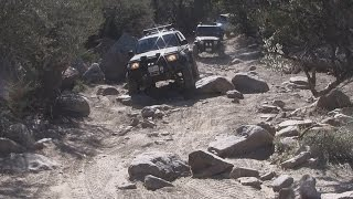 John Bull Trail - Off Road in Big Bear California - Forest Road 3N10
