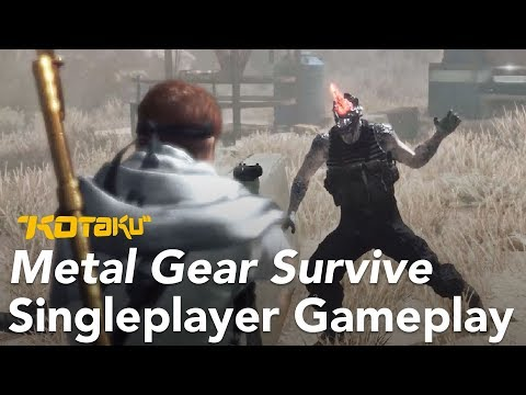 We Played Metal Gear Survive's Bizarre Single Player