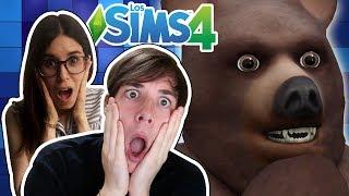 DE VACACIONES CON TAYLOR SWIFT Y NOS ATACA UN OSO! | Sims 4 con Sara #12