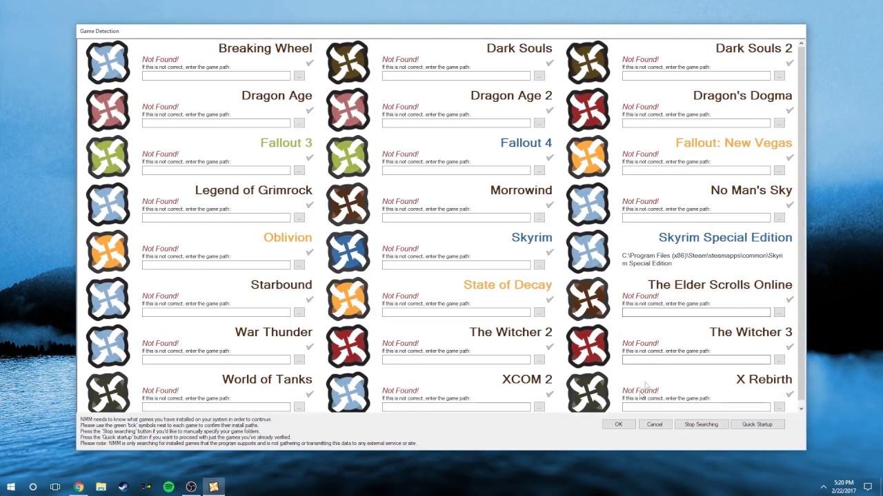 skyrim special edition vortex mod manager