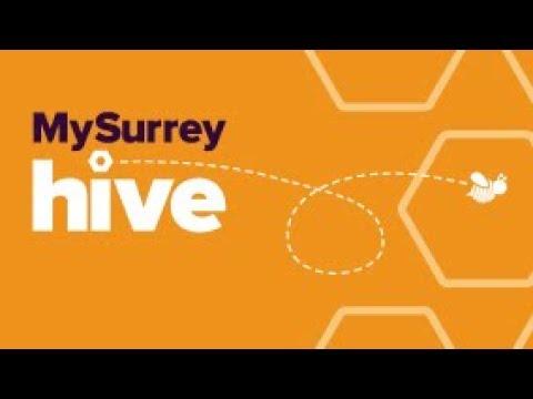 Play video: MySurrey Hive | Student Support | University of Surrey