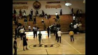 Police Break Up High School Basketball Brawl