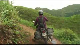Amazing single track motorbike ride in North Vietnam