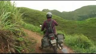 Amazing single track motorbike ride in North Vietnam
