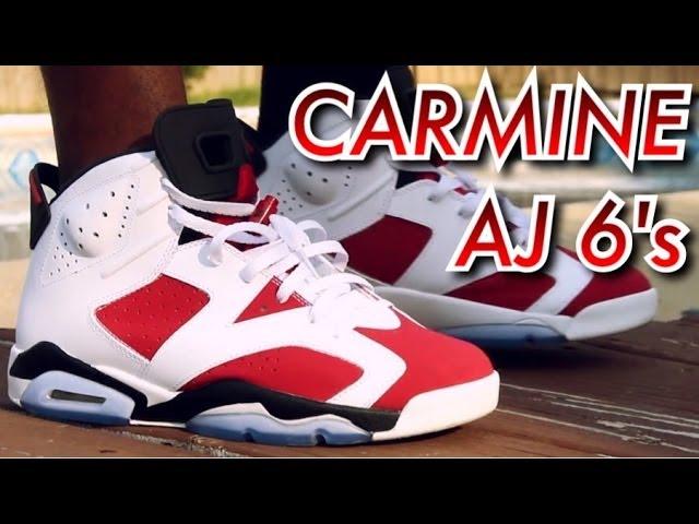 Air Jordan 6 Retro 'Carmine' 2014