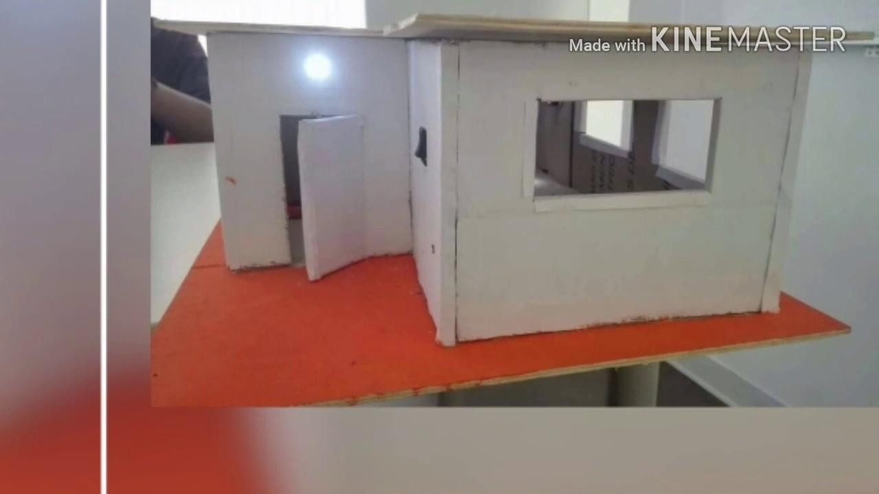 Circuito Electrico Simple De Una Casa : Casa con circuito electrico!!😋 youtube