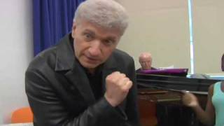 Dennis Deyoung With Kids In The 101 Dalmatians The Musical