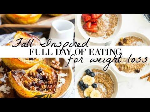 fall-inspired-full-day-of-eating-|-3-weight-loss-recipes-//-vegan