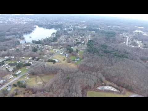 Leal Realty Drone over Dudley Ma