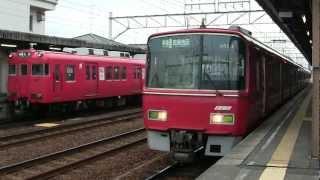 名鉄3500系 準急 吉良吉田行き 二ツ杁駅発車
