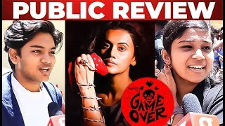 Game Over Public Review | Ashwin Saravanan | Taapsee Pannu | Ron Ethan Yohann