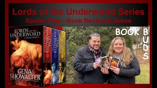 Lords of the Underworld Series  by Gena Showalter- Book Review & Scene - No Spoilers