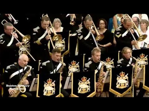 Buxton Military Tattoo 2015 - Band of The Royal Armoured Corps - In The Mood