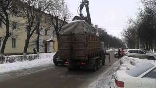 Суровый эвакуатор для ГАЗелей - это нечто... ))(вывезти крупногабаритный мусор со двора занимающий парковочное место? - да легко ))... Подписывайся на..., 2016-03-11T02:09:59.000Z)