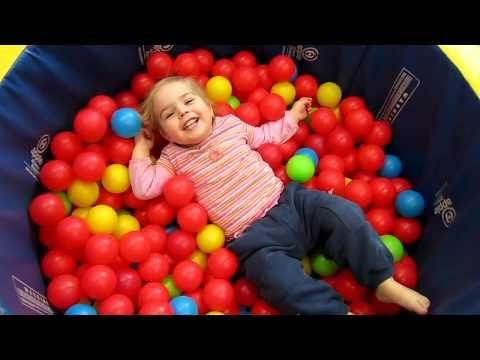 kids playing in ball pit youtube. Black Bedroom Furniture Sets. Home Design Ideas