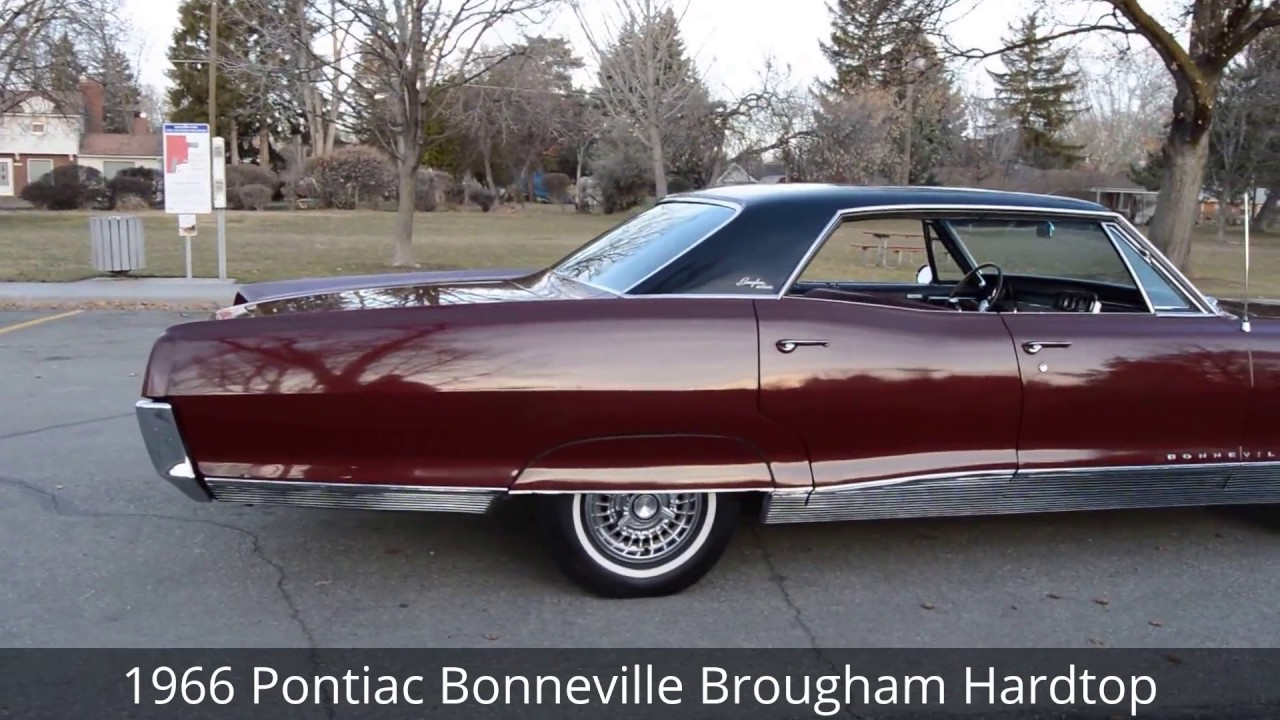 medium resolution of 1966 pontiac bonneville brougham 4 door hardtop