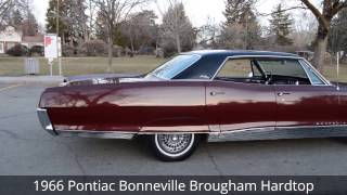 1966 Pontiac Bonneville Brougham 4 Door Hardtop