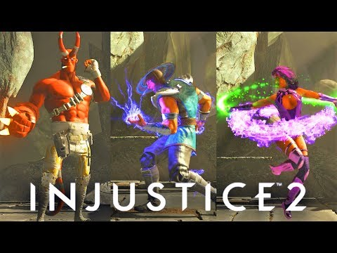Thumbnail: INJUSTICE 2 - ALL DLC Characters Taunt/Idle Animations