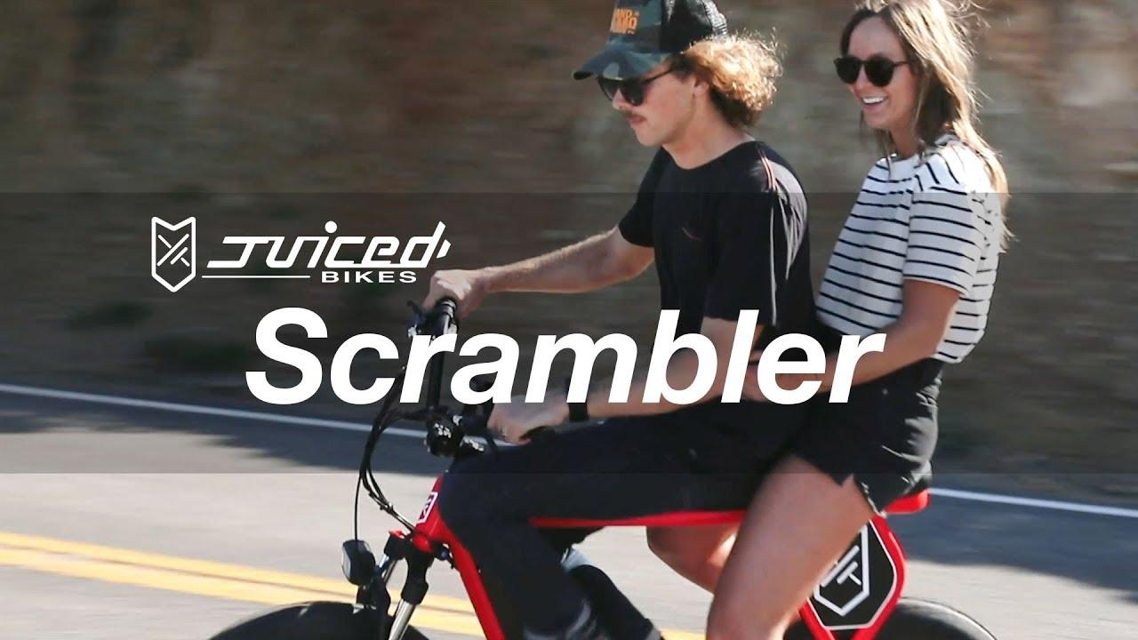 ad50e90d4f3 Scrambler: Best electric motorbike on the market! | Indiegogo