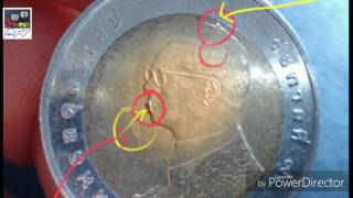 ส่องเหรียญ10ปี2558(เหรียญแปลก)ดูสักนิดอาดมีราคาที่มากก่วาหน้าเหรียญ