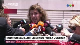Rodrigo Eguillor fue liberado - El noticiero de la gente