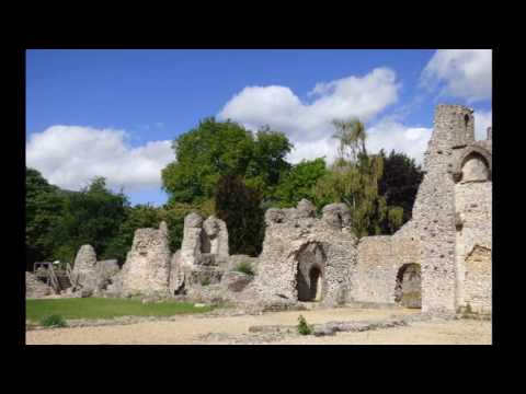 WINCHESTER Riverside Walk through to WOLVESEY CASTLE