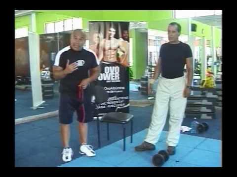 Rutina de ejercicios para espalda entrenamiento en - Gimnasios en casa ...