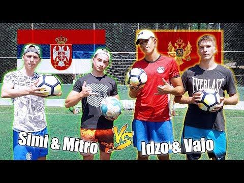 IDZO&VAJO vs SIMI&MITRO | ft.Crossbar & 5 Ball Challenge! ⚽
