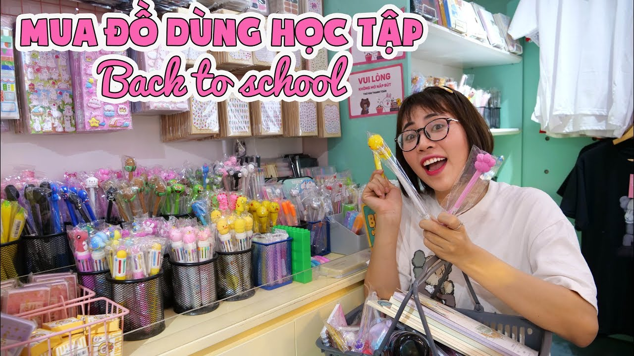 Cầm 5 Triệu Đi Mua Đồ Dùng Học Tập Back To School