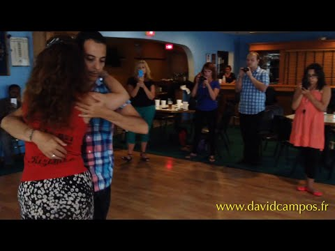 David Campos & Guida Rei - Kizomba / Tarraxa (Dj Ademar - O teu boy ) Harrisburg, PA - 2014